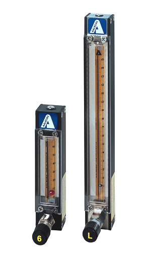 model P single flow tube meters