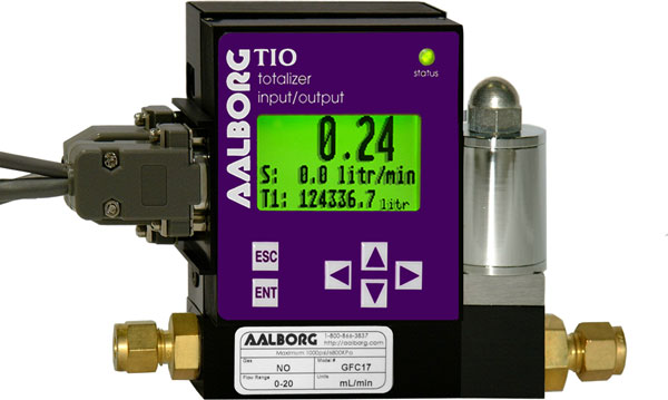 TIO Totalizer Input/Output Flow Monitor/Controller